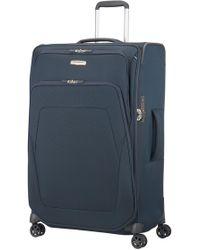 Samsonite - Spark Sng Navy 4 Wheel 79cm Extra Large Suitcase - Lyst