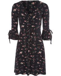 Jane Norman - Floral Tea Dress - Lyst