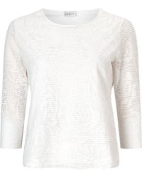 Eastex - Lace Jacquard Jersey - Lyst
