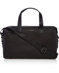 Ted Baker - Wood Core Nylon Holdall - Lyst