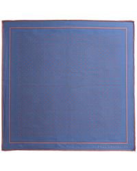 Paul Costelloe - Somerset Spot Silk Pocket Square - Lyst