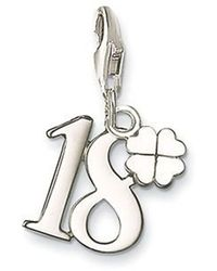 Thomas Sabo - Charm Club Lucky Number 18 - Lyst