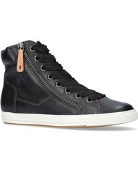 Paul Green - Alex Flat Lace Up Trainer Boots - Lyst