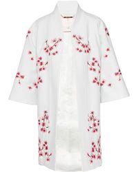 Ted Baker - Issaa Soft Blossom Kimono Coat - Lyst