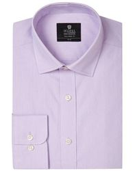 Skopes Tailored Fit Formal Shirt - Purple