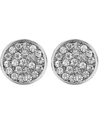 John Lewis - Dyrberg/kern Maira Crystal Stud Earrings - Lyst