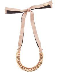 Weekend by Maxmara - Gambero Short Peal Necklace - Lyst