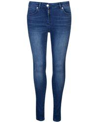 Biba Stevie Stretch Skinny Jeans - Blue