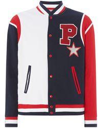 Polo Ralph Lauren Baseball Knit Jacket - Multicolour