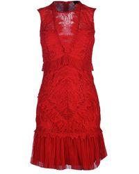 Bardot Francesca Dress - Red