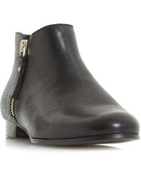 Dune - Panders Smart Cropped Ankle Boots - Lyst