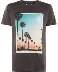 Jack & Jones - Men's Jorhorizon Print T-shirt - Lyst