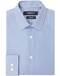 Kenneth Cole - Men's Macy Slim Fit Geo Shirt - Lyst