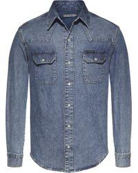 Calvin Klein | Men's Archive Western Denim Shirt | Lyst