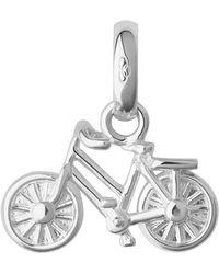 Links of London - Sterling Silver Bike Charm - Lyst