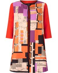 James Lakeland - Geo Print Jacket - Lyst