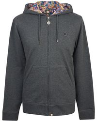 Pretty Green - Hooded Sweatshirt - Lyst