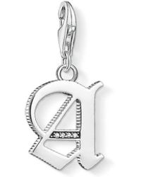 Thomas Sabo - Vintage A Letter Charm - Lyst
