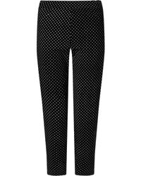 James Lakeland - Cropped Patterened Trousers - Lyst