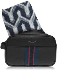 Ted Baker - Ted Web Wash Bag - Lyst