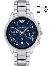 Emporio Armani - Art5000 Men`s Alberto Smartwatch - Lyst