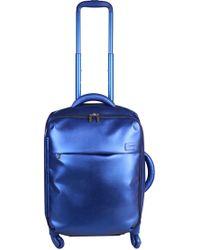 Lipault - Miss Plume Exotic Blue 55cm Cabin Spinner - Lyst