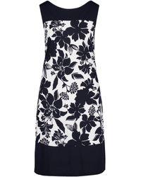 Betty Barclay Floral Print Dress - Blue