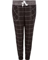 DKNY - Check Reworked Jogger - Lyst