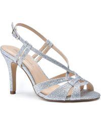 Paradox London Pink - Mandi Glitter Sandals - Lyst