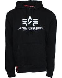 Alpha Industries - Men's Basic Hoody - Lyst