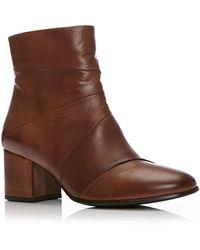 Moda In Pelle - Naldi Medium Smart Short Boots - Lyst