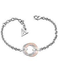 Guess - E-motions Ubb83068-l Circle Bracelet - Lyst