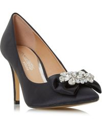 Dune - Addore Pearl Trim Court Shoes - Lyst