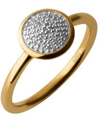 Links of London - Diamond Essentials Pave Ring - Ring Size P - Lyst