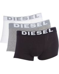 DIESEL - 3 Pack Solid Colour Trunk - Lyst