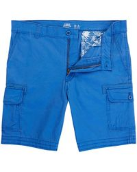 Izod Dyed Shorts - Blue