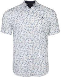 Raging Bull - Big & Tall Short Sleeve Floral Print Shirt - Lyst