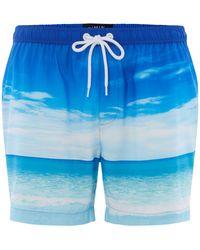 Criminal - Men's Photographic Beach Swim Shorts - Lyst