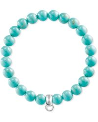 Thomas Sabo - Charm Club Turquoise Charm Bracelet - Lyst