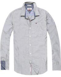Tommy Hilfiger - Men's Basic Solid Long Sleeve Shirt - Lyst