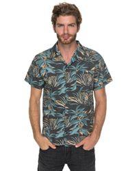Quiksilver - Men's Aloha Tiger Shirt - Lyst