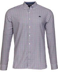 Raging Bull - Men's Big And Tall Window Pane Twill Shirt - Lyst