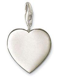 Thomas Sabo - Charm Club Plain Heart - Lyst