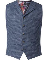 Gibson - Men's Blue Dogtooth Waistcoat - Lyst