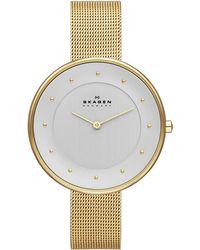 Skagen - Gitte Mesh Bracelet Watch - Lyst