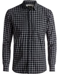 Quiksilver - Everyday Check Long Sleeve Shirt - Lyst