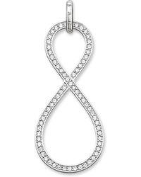 Thomas Sabo - Glam & Soul Silver Infinity Pendant - Lyst