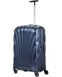 Samsonite Cosmolite 3.0 Navy 4 Wheel 69cm Medium Suitcase - Blue
