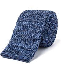 Gibson - Blue Knit Tie - Lyst