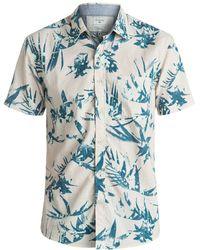 Quiksilver - Everyday Short Sleeve Shirt - Lyst